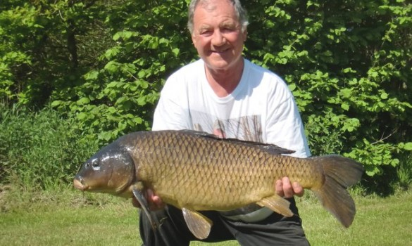 Carp fishing in the Midlands