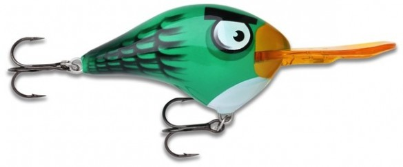 Angry Birds lures green