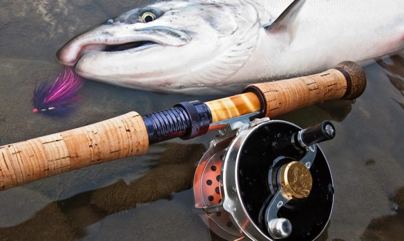 Handmade fly reels from a bygone age