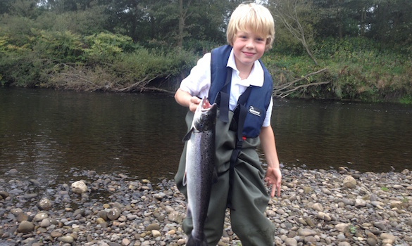 Are you a better angler than this 8-year-old?